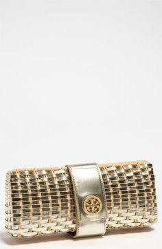 Tory Burch clutch - would go with everything!