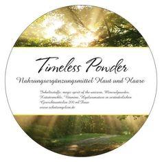 Lebenskraft Verstärker, Haut und Haare Aufbaupräparate, Wechseljahre Beschwerden Timeless Powder Schutzengelein