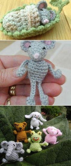 10 Crochet Knit Amigurumi Elephant Free Patterns Crochet Pinterest
