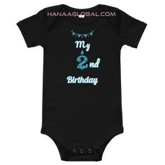 My 2nd Birthday Baby Boy Short-Sleeve One-Piece Bella + Canvas 100B  This baby one piece is the right choice for an active birthday baby with this cute cool design for the birthday baby.  100% combed and ring-spun cotton* Fabric weight: 3.9 oz/y² (132.2 g/m²) Envelope neckline Three snap leg closure Side-seamed Bella Canvas, Spun Cotton, Boy Shorts, Fabric Weights, 2nd Birthday, Envelope, Celebrations, Cool Designs, Cotton Fabric