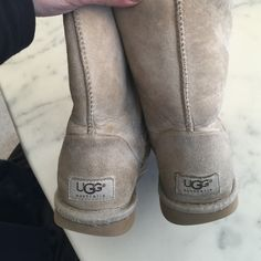 Lovely uggs Preloved uggs.  In used condition.  Box17B C5 UGG Shoes Winter & Rain Boots