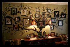 Decor Spotting: Family Tree Wall Mural