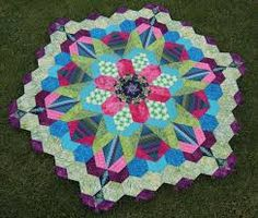 how to make a millefiore quilt - Google Search