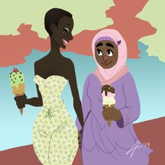 mistercoventry:  Lesbians and ice cream