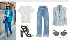 Cropped and Frayed | Rue
