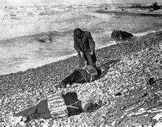Bodies wash up on a southern Lake Huron beach. Photo courtesy Bowling ...