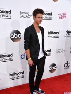Internet personality Cameron Dallas attends the 2014 Billboard Music Awards at the MGM Grand Garden Arena on May 18, 2014 in Las Vegas, Nevada.