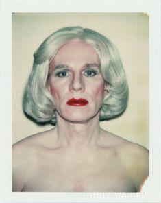 nan goldin, visual arts, wig, self portraits, polaroid, drag, andi warhol, andywarhol, andy warhol