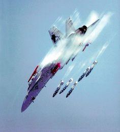 F-18 Hornet 'Bomb's Away'