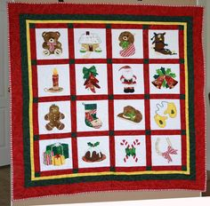 Alexa's Christmas ... by Alexandra Henry | Quilting Pattern - Looking for your next project? You're going to love Alexa's Christmas Applique & Mug Rugs by designer Alexandra Henry. - via @Craftsy