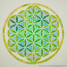 Sacred Geometry / Flower of Life / Share with Love by Sarjana Sky, via Flickr