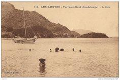 Joli sloop au mouilage, Terre de Haut, Les Saintes, Guadeloupe