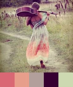 Daydream-In-Color-Color-Palette-Bohemian-Guitar-Girl