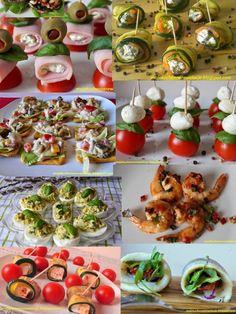 35 przekąsek na Sylwestra Appetizer Salads, Appetizer Recipes, Food Crush, Weird Food, Christmas Cooking, Appetisers, Food Design, My Favorite Food, Food To Make