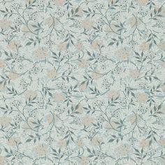 BuyMorris & Co Jasmine Wallpaper, Silver, DM3W214726 Online at johnlewis.com