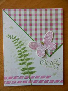 Dianne's cards SU Butterfly Basics