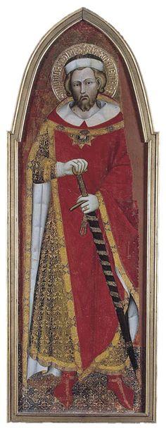 Spinello Aretino - San Ponziano - 1383-1384 -  Tempera su tavola - The Hermitage, St. Petersburg