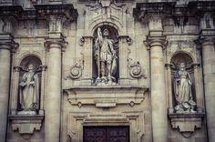 Detalle Fachada de la Iglesia de San Jorge (A Coruña - Spain)