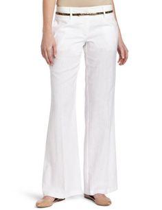 XOXO Juniors Multi Stitched Wide Leg Linen Pant $40.84