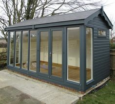 This Burnham Studio in Alciston, East Sussex was designed by our customer to be used as a garden office. Our customer opted for heavy duty floor in his garden office space so that the flooring didn't wear easily after placing desk chairs and computer desks. Full details:- https://www.cranegardenbuildings.co.uk/installed-buildings-east-sussex/sheds-in-alciston