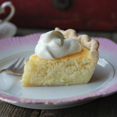 Andrew Zimmern's recipe is inspired by an extraordinary coconut pie - simple and delicious - the he tried outside of Charleston, South Carolina.