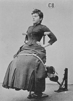 Zanders medico-mechanical gymnastics equipment, 1890s.