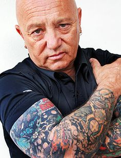 Angry Anderson - (Rock singer-songwriter, television presenter) A
