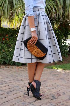 midi-skirt-&-chambray