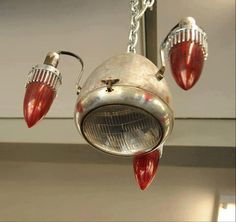 Motorcycle chandelier <3