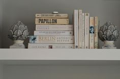 Styling your bookshelves by colour co-ordinating your books