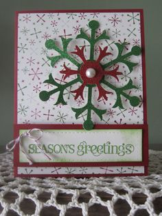 Stampin' Up Handmade Greeting Card by ConroysCorner on Etsy, $3.50