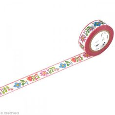 Washi tape - Bordado - 15 mm x 10 m - Fotografía n°1