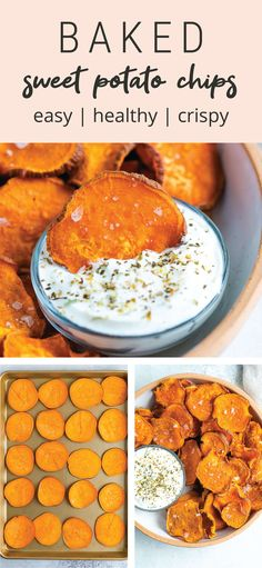 Vegan Recipes, Cooking Recipes, Skillet Recipes, Cooking Gadgets, Cooking Tools, Sweet Potato Recipes, Sweet Potato Snack, Baked Sweet Potato Chips, Baked Chips