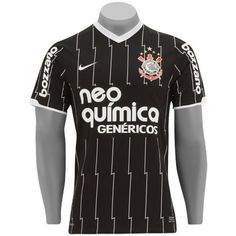 Camisa Nike Corinthians II Authentic 11/12 s/nº - Jogador