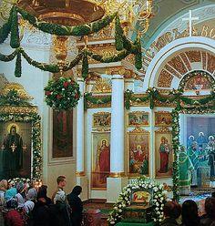 украшение храма на пасху цветами - mimege.ru