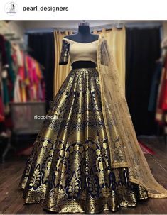 For details / order please dm or Whatsapp on . Indian Gowns Dresses, Indian Fashion Dresses, Indian Designer Outfits, Indian Outfits, Designer Dresses, Lehenga Designs, Saree Blouse Designs, Saris, Indian Wedding Wear