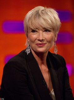 Rejection: Emma Thompson has revealed that before Trump even began to consider a career in...