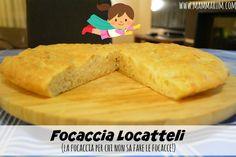 Mammarum: Focaccia locatelli semi integrale