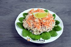 Chicken salad with celery, carrot and yoghurt, quick recipe Romanian Food, Quick Recipes, Chicken Salad, Avocado Toast, Celery, Carrots, Eggs, Cooking, Breakfast
