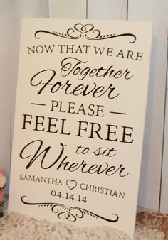 Now That We are Together Forever/Please by gingerbreadromantic, $37.95