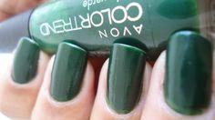 Coisas da vida: Esmaltes + Comer e comer #esmalte Moda Verde da Avon