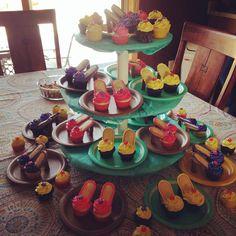 Ladies Day High Heel cupcakes