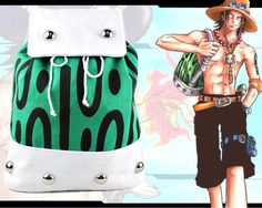 Cheap canvas school bag, Buy Quality backpack shoulder directly from China backpack shoulder bag Suppliers: Anime ONE PIECE Portgas D Ace Backpack Shoulder Bag Canvas School Bags Gift 42 x One Piece Figure, One Piece Ace, One Piece Luffy, School Bag Price, School Bags, One Piece Merchandise, Naruto Merchandise, One Piece Theme, Animal Print Backpacks