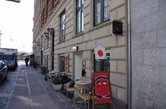 Bento - one of the good places to eat sushi i Cph. Don't forget to try the UKI beer made by Mikkeller, made specially for this restaurant.