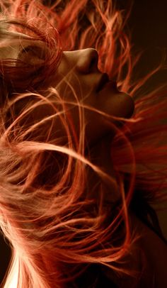 ... as she lifter her face to breathe in the joy which was her life, a gust of wind picked up and blew her fiery red hair like the untamed beast that it was... | www.republicofyou.com.au
