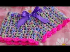 Very Easy Crochet Short-2 - YouTube