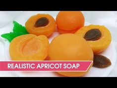 DIY: Apricot soap from custom silicone molds - YouTube