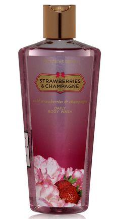 Victoria Secret Women Bath and Body Strawberries  and champagne Shower Gel 250ml