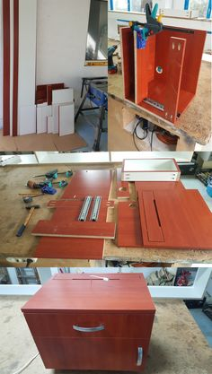 nightstand making step by step