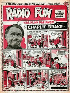 Radio Fun No.1055 - 28th December 1958 Front Page